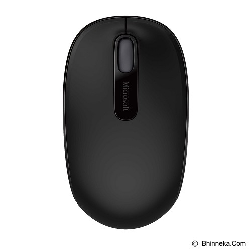 MICROSOFT Wireless Mobile Mouse 1850 [U7Z-00010] - Black - Mouse Mobile